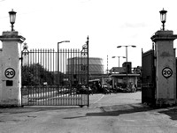 Beckton Gasworks. Main entrance.
