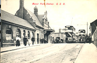 Manor Park Station. 1909.