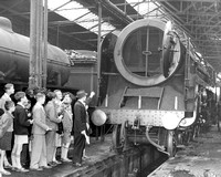 Stratford Railway Works. Public Open Day. 1955.