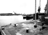 King George V Dock. 1973.