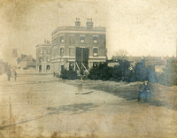 Romford Road. Site of Manor Park Library. Early 1900s.