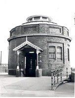 Woolwich Foot Tunnel. Entrance.