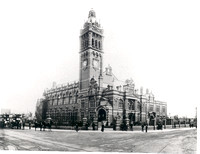 East Ham Town Hall.