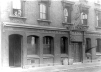 Coloured Men's Institute, 13-15 Tidal Basin Road, Canning Town. c1926.