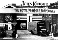 John Knight, Royal Primrose Soap Works, Silvertown. Main entrance.