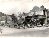 High Street North, East Ham. Bomb damage. 30 April 1941.