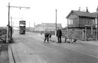 Beckton Level Crossing. 16 March 1928