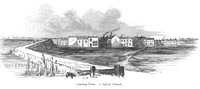 Canning Town: a hybrid Suburb (from George Godwin's Town Swamps & Social Bridges. 1856).