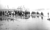 Floods. Grantham Road, Manor Park. 1903.