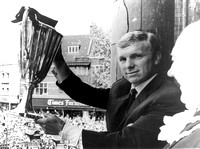 European Cup-Winners Cup. Bobby Moore at reception for West Ham United FC. May 1965.