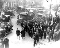 General Strike May 1926. Stratford Broadway.