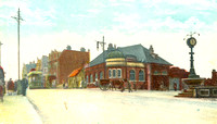 Forest Gate Station. c1908.