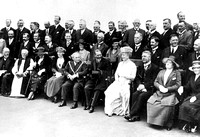Visit of King George V & Queen Mary to the Red Triangle Club, Plaistow, on its opening day. 4 June 1921.